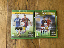 Xbox One Fifa 16 Deluxe Edition & Fifa 15 Ultimate Team