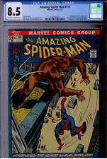 Amazing Spider-Man #110 CGC 8.5 OW/WHITE pages  1st app. the Gibbon; Kraven