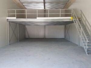 Lagerbühne Lagerboden Stahlbühne Podest 4,00 x 5,00 m Tragkraft 500 Kg / m²