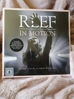 REEF: IN MOTION -Limited Ed 139/500 [New and sealed deluxe coloured LP vinyl]