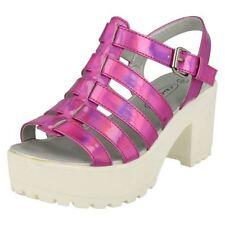 35 Scarpe sandali rosa per bambine dai 2 ai 16 anni