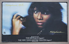 Stephanie Mills  Rare Vintage Original Performance Promotional Poster