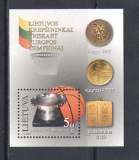 Lithuania 2003 BASKETBALL/Sport/Games 1v m/s (n15101)