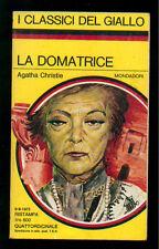 CHRISTIE AGATHA LA DOMATRICE CLASSICI GIALLO MONDADORI 225 1975