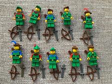Lego Rare Vintage Castle Minifigures Collection Lion Knight Forestmen Robin Hood