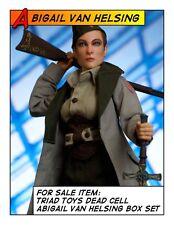 Hot Triad Toys 1/6 12 in scale Dead Cell Abigail Van Helsing Female Figure Set