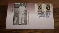 1997 AUSTRALIAN SYDNEY ANDA STAMP SHOW COVER, BRADMAN CRICKET STAMPS & PM