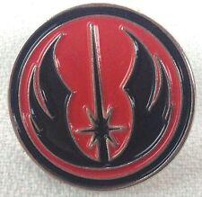 Jedi Academy Black with Red Background - Star Wars Movie Series - Enamel Pin