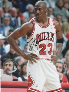 """Michael Jordan Hand-Signed ca. 8x10"""" Bulls Photograph -- Autograph -- No LOA"""