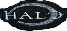 """Halo 3.5"""" Logo Embroidered Iron-on patch"""