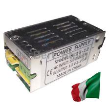 Alimentatore Trasformatore Stabilizzato 110-220Vac a 12Vdc 1,25A Switching DC