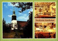 Kirchen Motiv-Postkarte DDR Kirche Dorfkirche Schellerhau bei Altenberg Sachsen