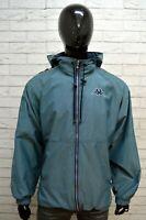 KAPPA Uomo Giacca Taglia XL Cappotto Giubbotto Impermeabile Nylon Vintage Jacket