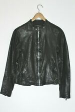 AllSaints Mens COLLIDE Leather Bomber Jacket MEDIUM / SMALL /  XS tom cruise
