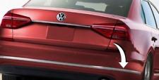 Original VW Passat 15-18 Parachoques Trasero Derecho Cromado Moldear Trim