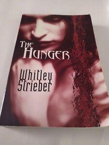 The Hunger Whitley Strieber  Paperback 2001 Vintage Vampire Book