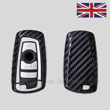 Carbon Fiber Key Cover for BMW Remote Fob Case 2 3 4 Button Key Silicone s60cf