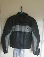 Dainese Leather Motorbike Motorcycle Jacket CE Protectors Mens 46 UK 36 S Small