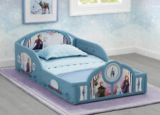 Disney Frozen 2 Anna Elsa Girls Toddler Bed Kids Children Plastic Furniture