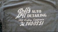Biff auto detailing back to the future custom t-shirt graphic tee s-xL
