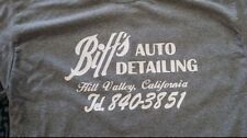 "Biff auto detailing ""back to the future"" custom t-shirt graphic tee s-xL car"