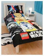 LEGO Star Wars Bricks Single Duvet Set lucasfilm and lego Officially licensed