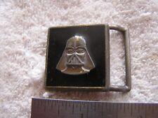 Vintage Darth Vader Belt Buckle 1982 Lee Lucas Films LTD