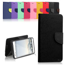 New Diary TPU Wallet Case Cover for HTC One X9 X10 U11 + Screen Protector