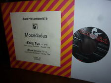 "Mocedades, Eres Tu, Grand Prix Eurovision 1973, German Hansa 12651 AT 7"""