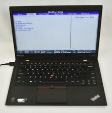 Lenovo ThinkPad X1 Carbon Laptop Ultrabook i5-5300U 2.3GHz 8GB 250GB SSD No OS