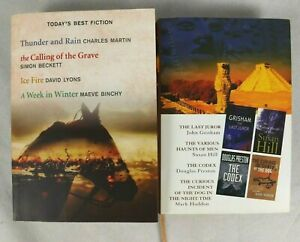Reader's Digest Select Editions Book x 2 John Grisham Maeve Binchy Susan Hill