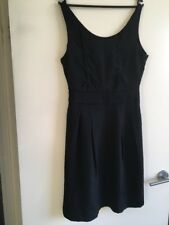 NICOLA FINETTI BLACK DRESS SIZE 10