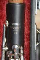 YAMAHA YCL 34 II(as 450),WOOD CLARINET,NO CRACK,READY TO PLAY,AS NEW!/CLARINETTO