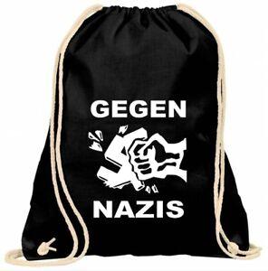 Turnbeutel Backpack Gymsack Punk Punkrock Antifaschist Gegen Nazis Dritte Wahl