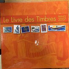 Livret des timbres de la poste 2007 collection annuelle  français TBE