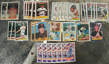 (35) Assorted Craig Nettles Trading Cards 1979-89 (11 different cards)