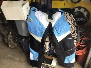 Snowmobile pants BIBS CASTLE Fuel WOMAN XL Black BLUE