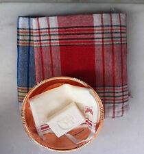 Turkish Bath Sauna Set: 2 x Peshtemal Copper Hammam Bowl Duru Soap Kese Mitt -M2
