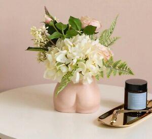 Mini Body Art Flower Vase Boobs Ass Ceramic Sculpture Ornaments Craft Home Decor