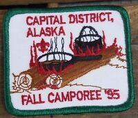 Boy Scouts of America Capital District Alaska Fall Camporee '95 Patch