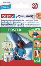 Tesa Powerstrips Poster 58003/79  20 Stück  Klebe-Strips