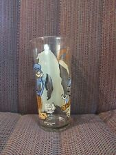 Road Runner/Wile E Coyote Pepsi Collector Series Glass Vintage 1976 Looney Tunes
