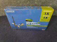 Linksys Wireless-G PCI Adapter Model: WMP54G - Sealed New