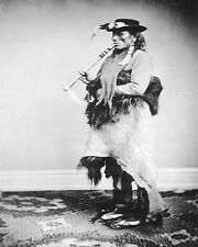 """INDIAN """"GRISLEY BEAR WITH GREAT VOICE"""" DECOTA SIOUX   Reprint  8"""" x 10"""""""