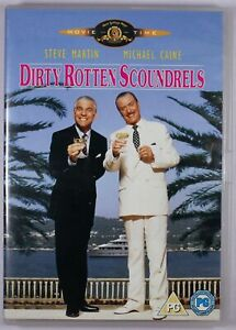 Dirty Rotten Scoundrels DVD R2 FREE POST