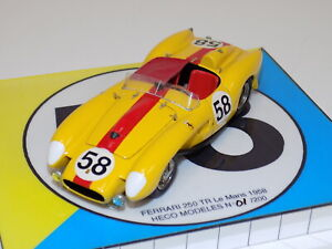 1/43 Heco  Models Ferrari  250 TR from 1958 24 H of LeMans #1 of 200    GP103