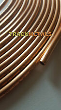 Soft Copper Tube  1/4 o/d x 22 swg  x 1 x 10 metre coil