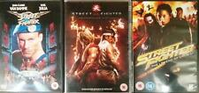 STREET FIGHTER TRILOGY The Legend of Chun-Li*Assassin's Fist Van Damme DVD *EXC*