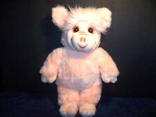 "Pigalilly Dumplings Plush 24K Polar Puff Pink Pig Vintage Mighty Star 17"" inch"