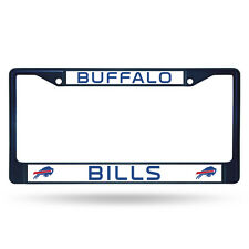 Buffalo Bills Navy Blue Metal License Frame [NEW] NFL Auto Car Truck Plate Steel
